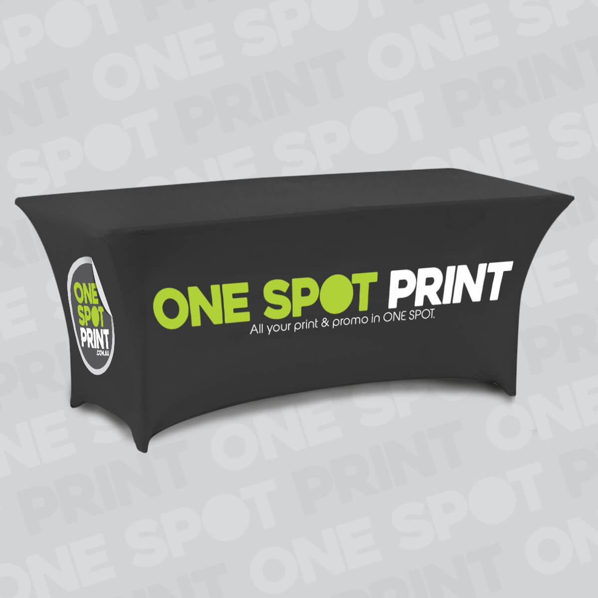 Table Throws (Stretch Tension) - One Spot Print 4f94198465354
