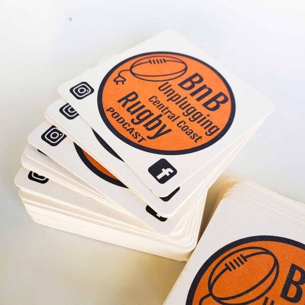 beer coaster printing