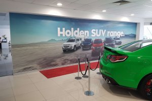 Holden Dealearship - One Spot Print
