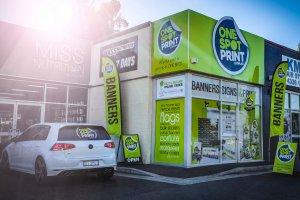 One Spot Print Gosford Shopfront