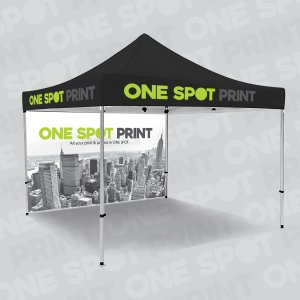 3 x 3 Marquee gazebo with awesome print