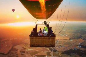 Hot air balloon joy flight
